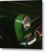 Green Mg Metal Print
