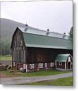 Green Mountain National Forest Barn Metal Print