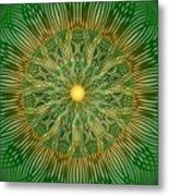 Green No2 Metal Print