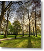 Green Park London Metal Print