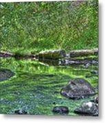Green River Bend Metal Print