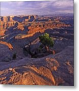 Green River Canyon Sunset Metal Print