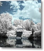 Green River Ir Metal Print