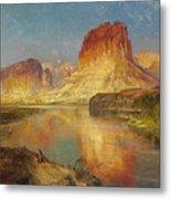 Green River Of Wyoming Metal Print