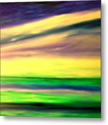 Green Sea Metal Print