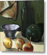 Green Still-life Metal Print