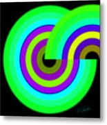 Green Targets Metal Print