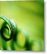 Green Tides Metal Print