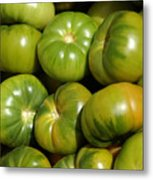 Green Tomatoes Metal Print by Frank Tschakert