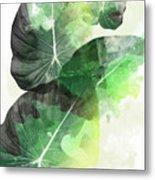Green Tropical Metal Print
