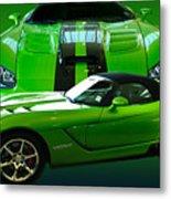 Green Viper Metal Print