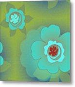 Greenfloral Metal Print