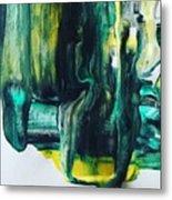 Greenish Metal Print