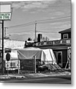 Greenlees Drug Store Metal Print