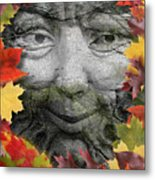 Greenman Metal Print