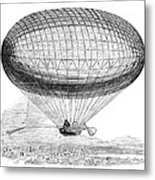 Greens Balloon, 1857 Metal Print