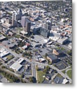 Greensboro Aerial Metal Print