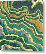 Greenscape C Metal Print