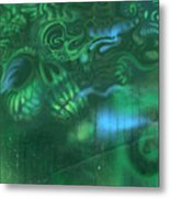 Greenskull Metal Print
