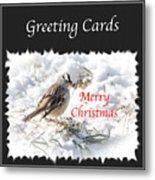 Greeting Card Cover Photo Metal Print