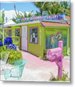 Greetings From Matlacha Island  Florida Metal Print