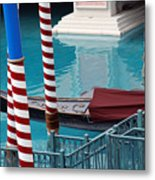 Greetings From Venice Metal Print