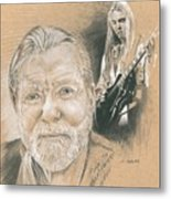 Gregg Allman Metal Print