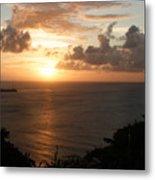 Grenadian Sunset I Metal Print