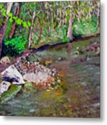Gressy Creek Metal Print