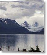 Grewingk Glacier Metal Print