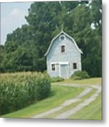 Grey Farmhouse - Northern Neck Metal Print