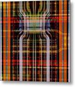 Grid 2 Metal Print