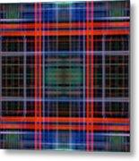 Grid 4 Metal Print