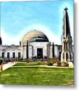 Griffith Observatory, Los Angeles, California Metal Print