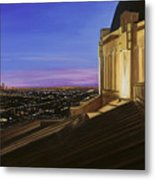 Griffith Park Observatory Metal Print