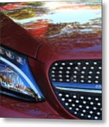 Grille  And Headlight  Metal Print