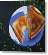 Grilled Cheese Picnic Metal Print