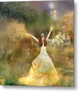 Grimms Fairie Cinderella  Metal Print by Carrie Jackson