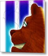 Grin And Bear It Metal Print