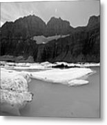Grinnell Glacier Panorama Metal Print