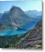 Grinnell Lake - Many Glacier Metal Print