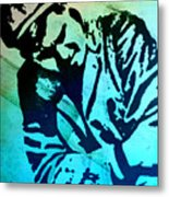 Grip Of Pain Metal Print