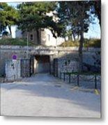 Gripe Fort Entrance Metal Print
