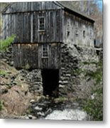 Grist Mill At Moore State Park Metal Print