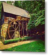 Gristmill - Charlottesville Virginia Metal Print