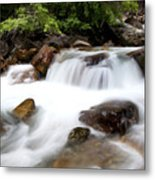 Grizzly Creek Metal Print by Barry C Donovan