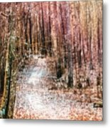 Grongarn Forest Painterly Metal Print