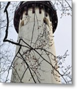 Grosse Point Lighthouse Tower Metal Print