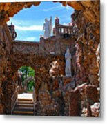 Grotto Of Redemption In Iowa Metal Print