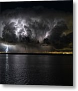 Ground Strike Metal Print